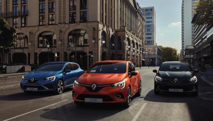 Shortlease actie Renault Clio
